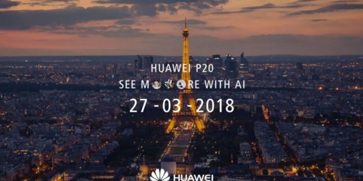 Cómo ver el lanzamiento del Huawei P20 en directo desde París