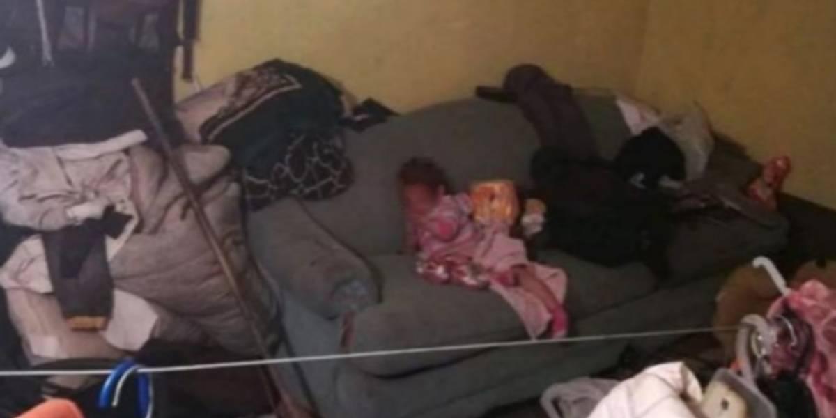 Padres denuncian desaparición de bebé y la hallan en su casa