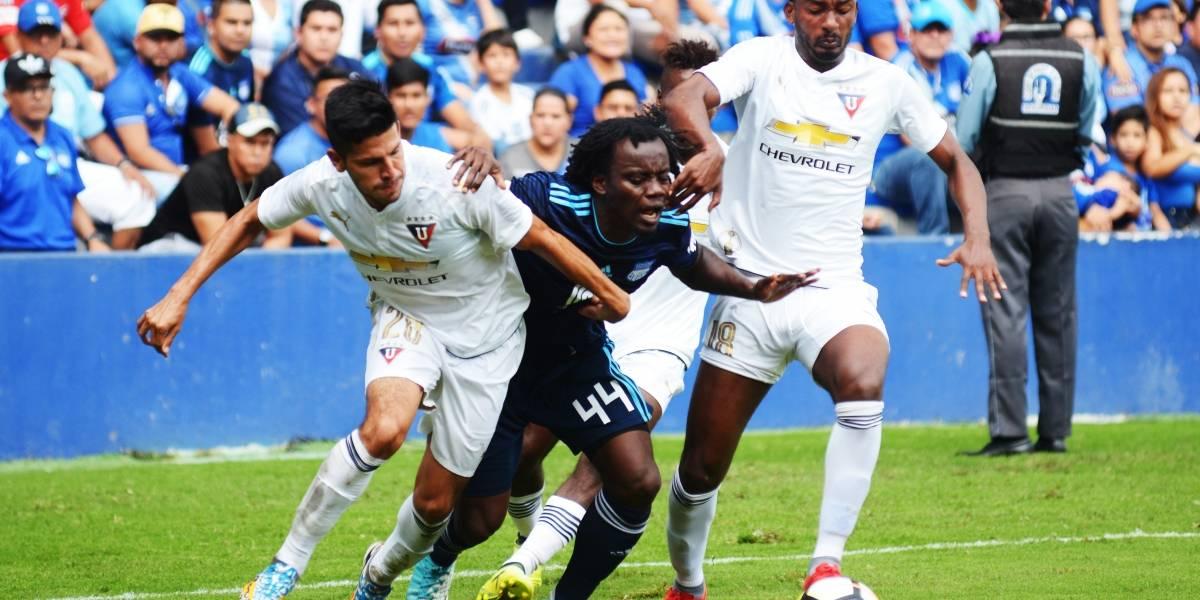 FEF sanciona a Emelec por acciones en partido ante Liga de Quito