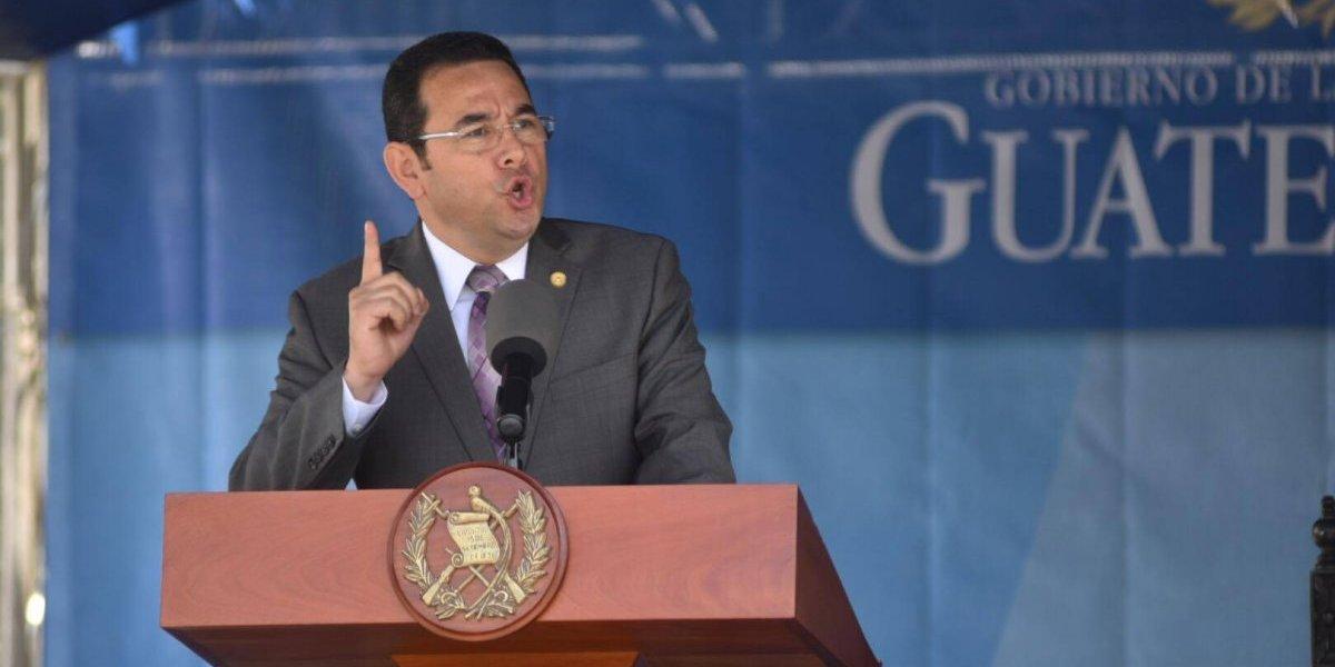 """VIDEO. Presidente asegura que ninguna empresa ofertó por motos para PNC """"por miedo"""""""