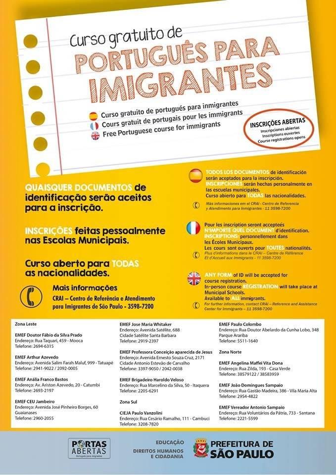 Português para Imigrantes