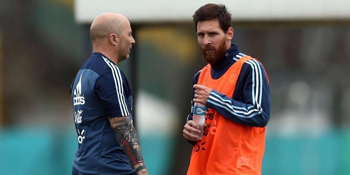 "Sampaoli no para de elogiar a su estrella: ""Messi es inalcanzable"""