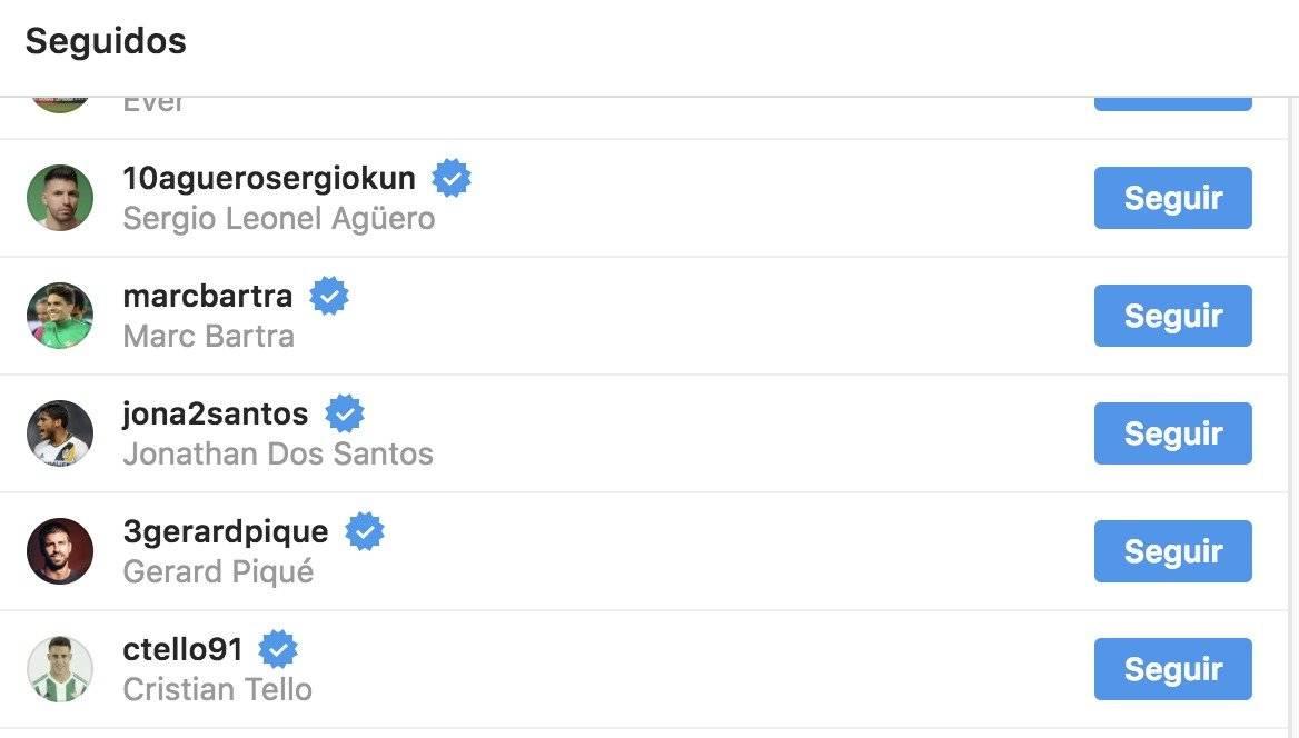 Seguidores de Messi