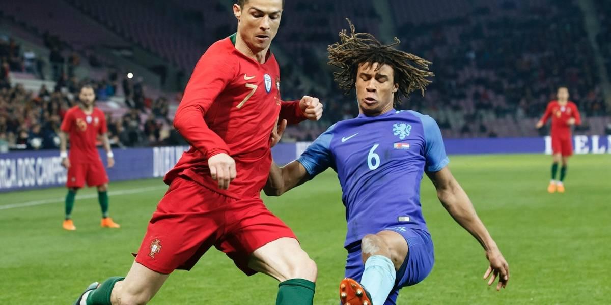 Cristiano y Portugal caen 3-0 en amistoso ante Holanda