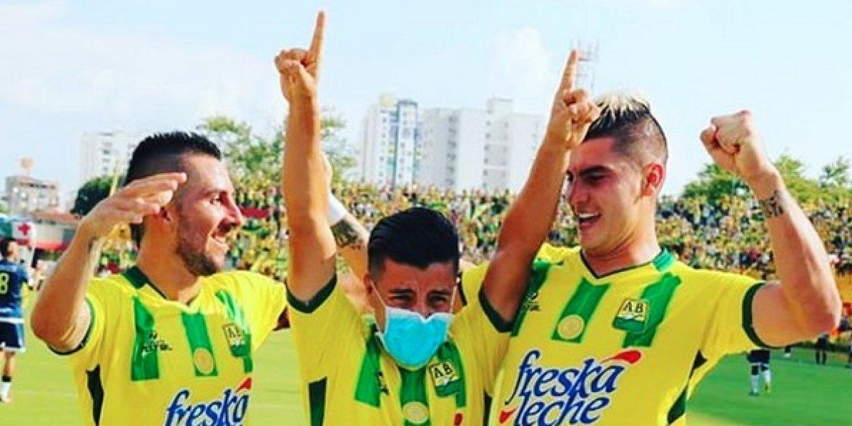 Futbolista festeja gol con conmovedora dedicatoria a su hija