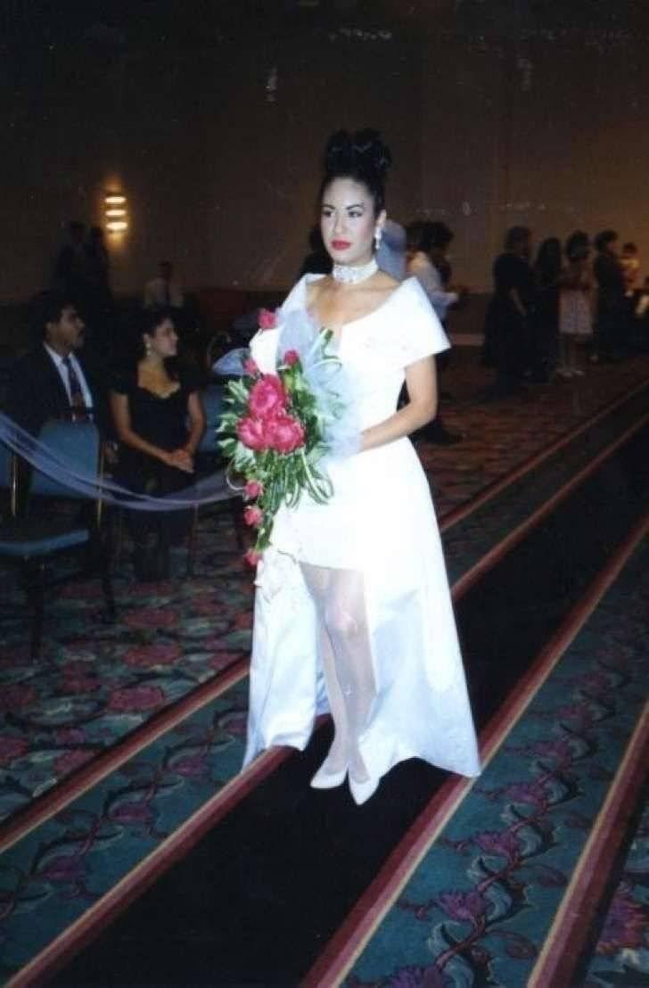 Selena Quintanilla boda