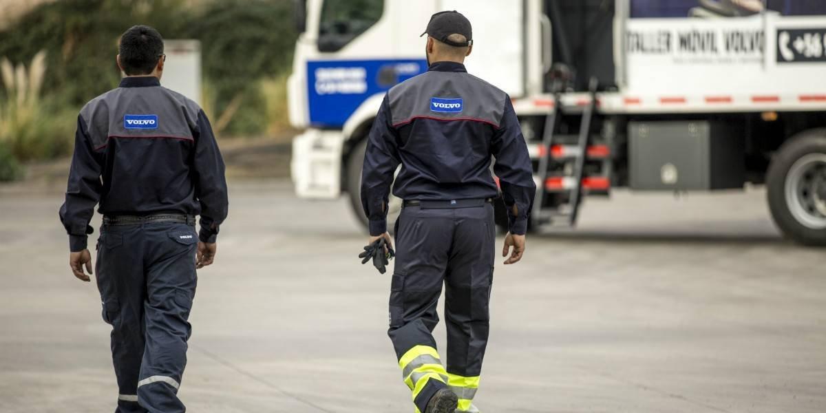 Volvo Camiones presenta su Taller Móvil en Santiago