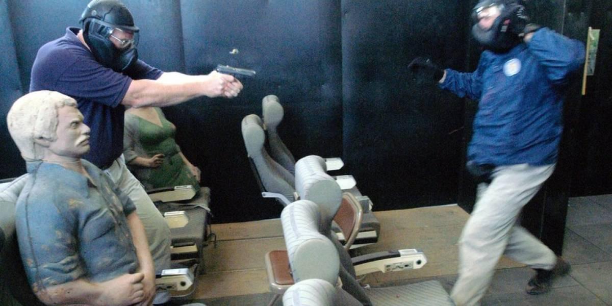 Os pilotos americanos que portam arma e são treinados para atirar em sequestradores de aviões