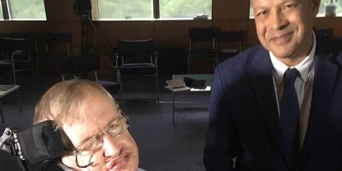 A visão inspiradora de Stephen Hawking na última entrevista à BBC
