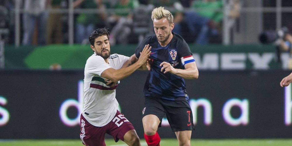 México cae ante Croacia en el cierre de la Fecha FIFA