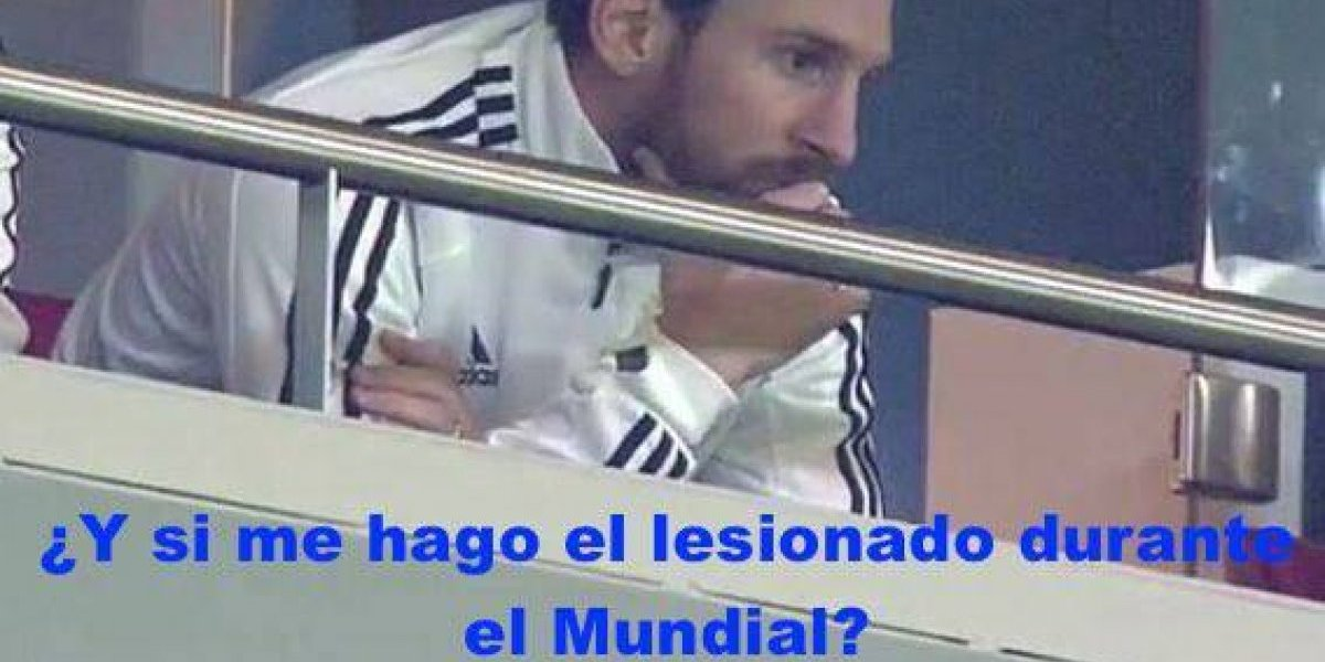 Los mejores memes de la goleada que Argentina recibió de España