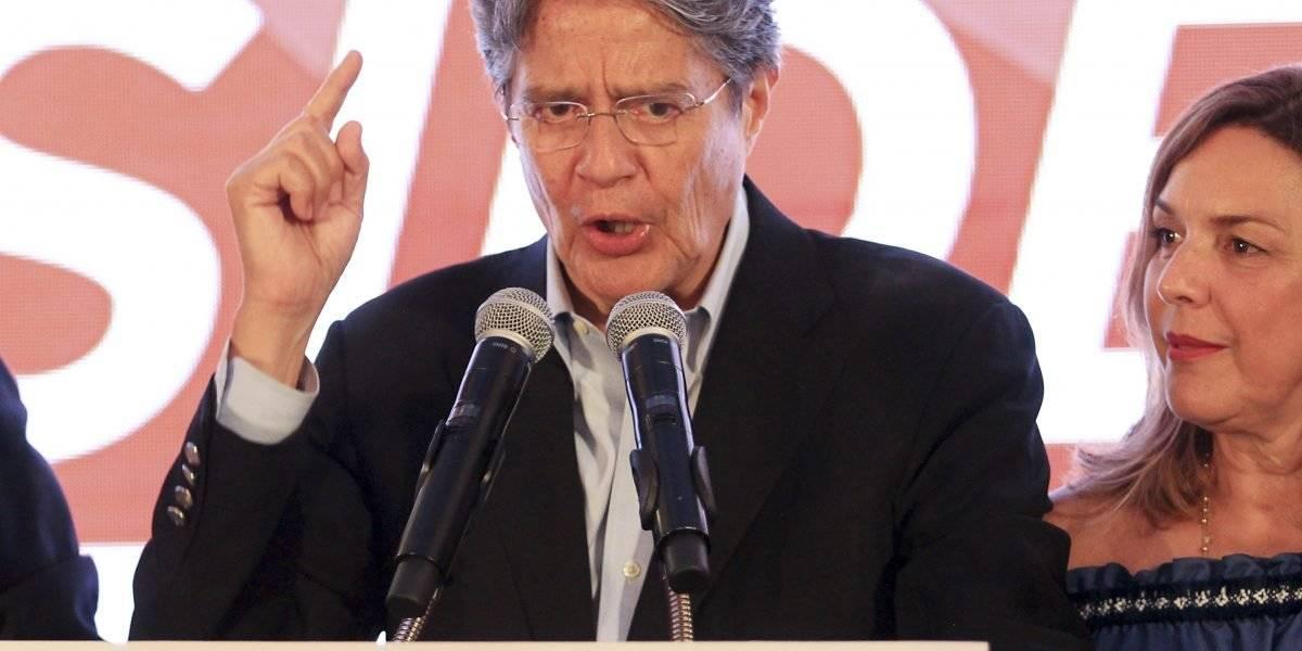 Guillermo Lasso, candidato de CREO, calificó de cobarde el acto de secuestro hacia periodistas de diario El Comercio EFE