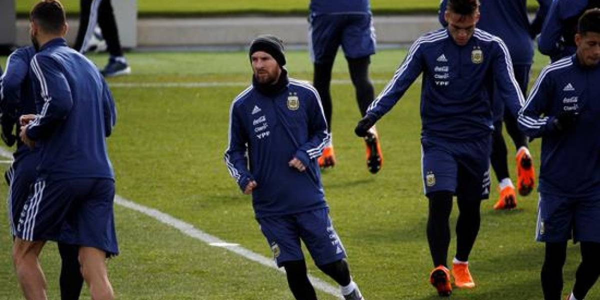 La AFA ofrece un posible once sin Messi