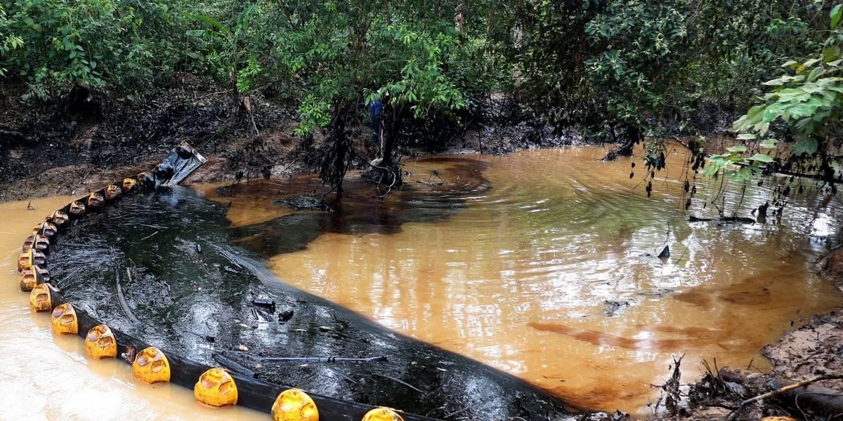 Inicia el proceso sancionatorio contra Ecopetrol por derrame de crudo
