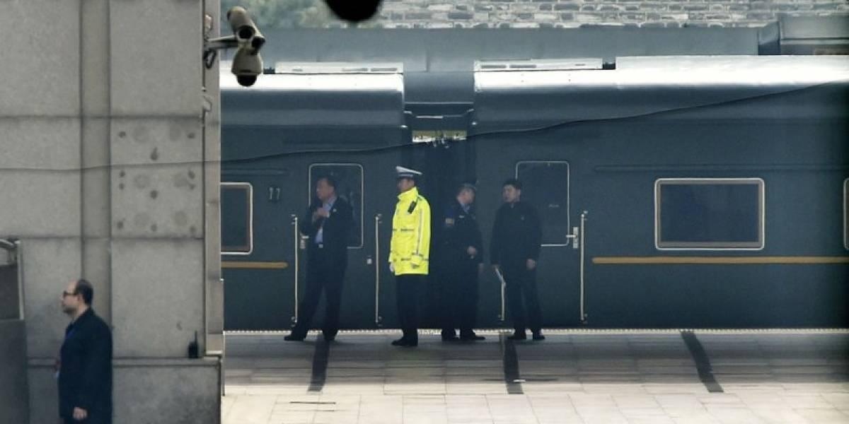 La historia del misterioso tren verde que desata los rumores de que Kim está en Beijing