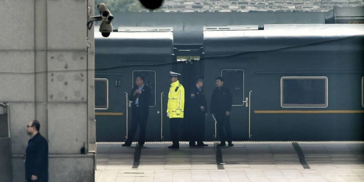 Misterioso tren llega a China; aviva rumor sobre visita de Kim Jong-un