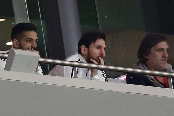 Lionel Messi sufrió con la humillación de la Albiceleste / imagen: AP