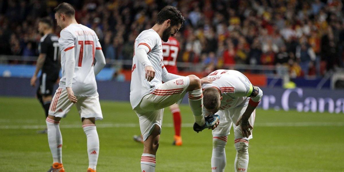 Messi no soportó la humillación de Argentina y abandonó el palco