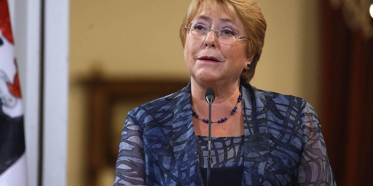"""Michelle Bachelet sobre el fallo del TC: """"Contradice el análisis de constitucionalidad"""""""