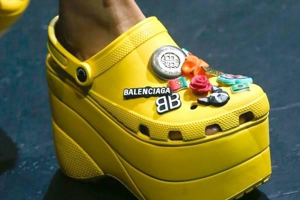 Ugly Diseñadores Feos Mujer BalenciagaNueva Crocs Zapatos Chic WexBdCro