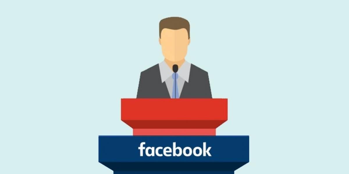 Facebook sabe y te cataloga según tu tendencia política