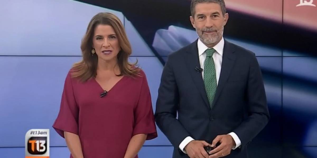Periodista de Canal 13 pidió disculpas por improperios al aire