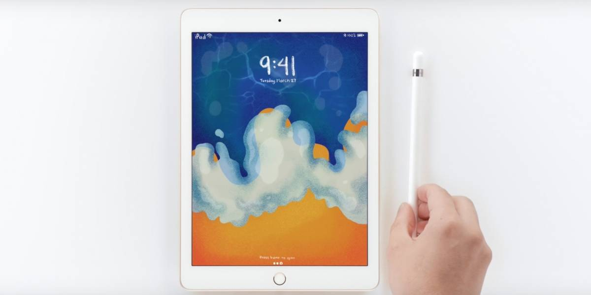 Apple lanza un iPad barato y con soporte para Apple Pencil