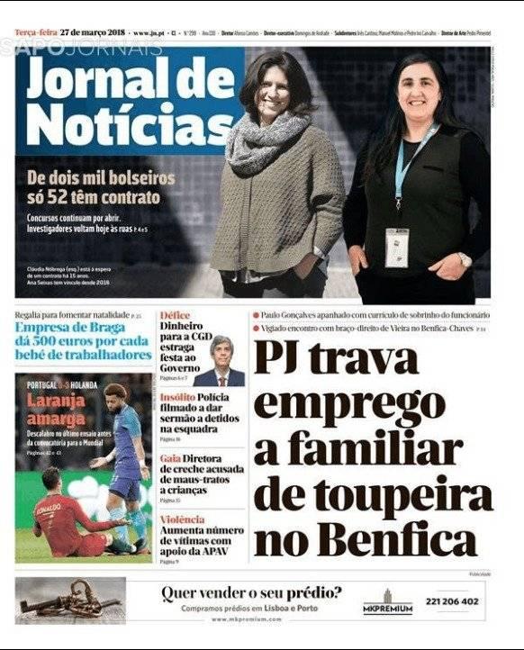 Jornal de Noticias, medio portugués