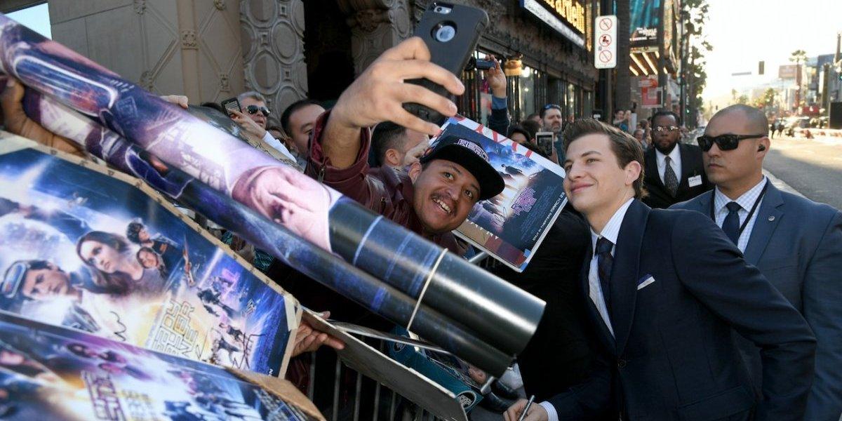 Tye Sheridan: 'Spielberg es un hombre divertido'