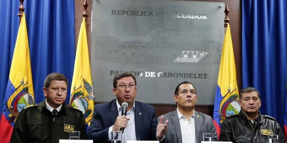 Periodistas y conductor secuestrados en frontera con Colombia — Ecuador