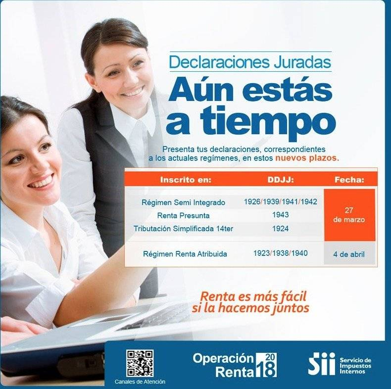 SII - Operación Renta 2018