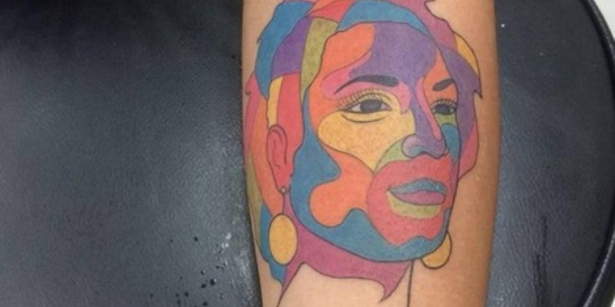 Filha de Marielle tatua o rosto da mãe no braço