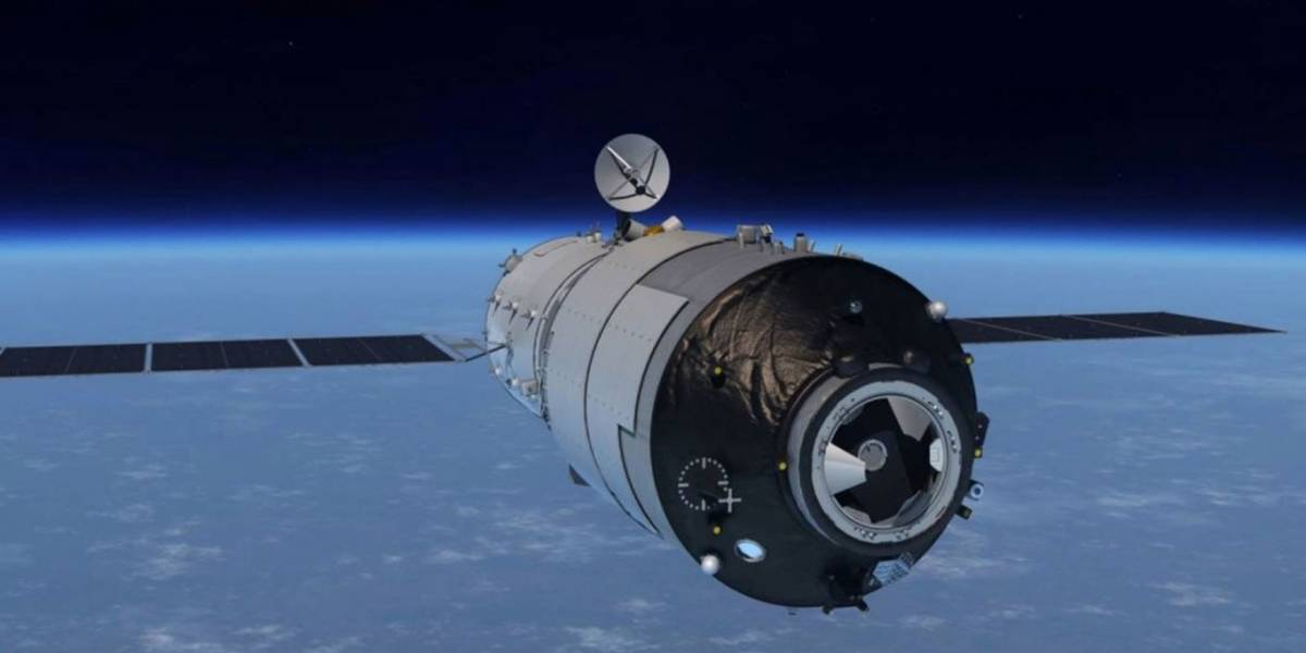 La Estación espacial China caerá el próximo domingo a la Tierra, pero no representará una amenaza
