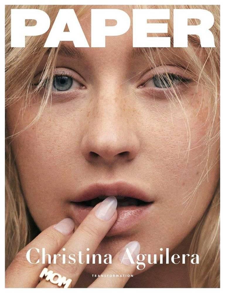 Christina Aguilera Paper
