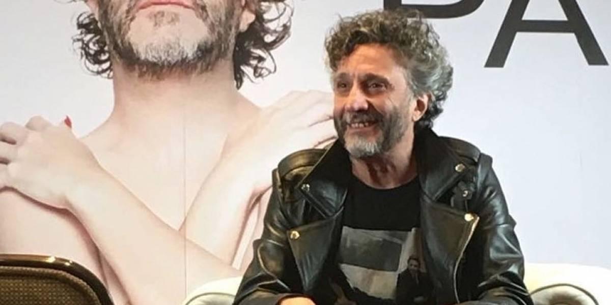 """Fito Páez crea una disco """"utópico y anarquista"""""""
