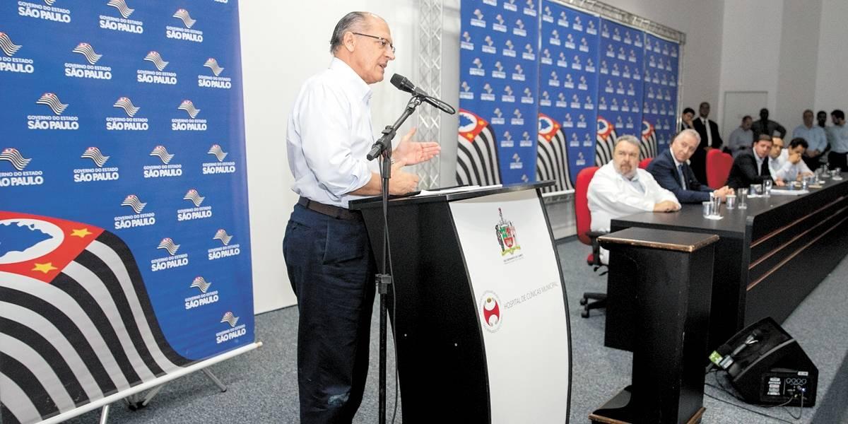 Alckmin diz que Metrô no ABC não é prioridade agora