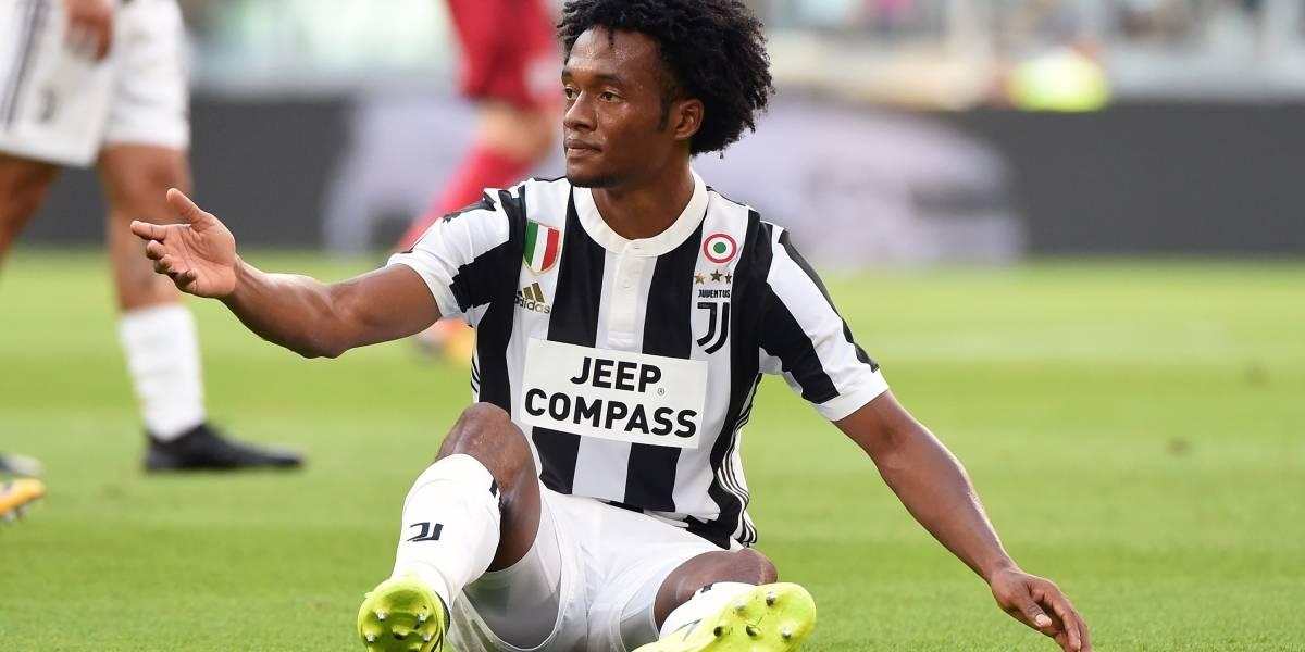 Juan Guillermo Cuadrado regresó a entrenamientos con la Juventus