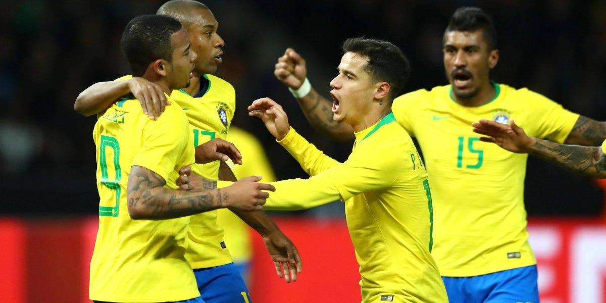 """Brasil se """"vengó"""" del humillante 7-1 ante Alemania con sólido triunfo en Berlín"""
