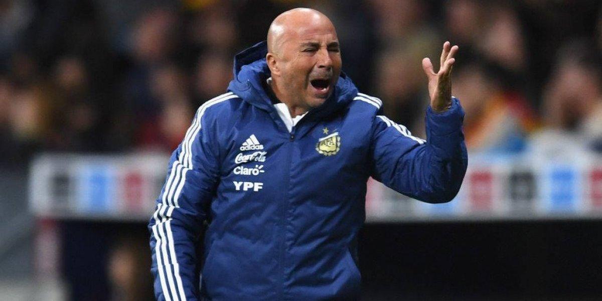 Sampaoli sufrió la peor derrota de la selección argentina en su historia