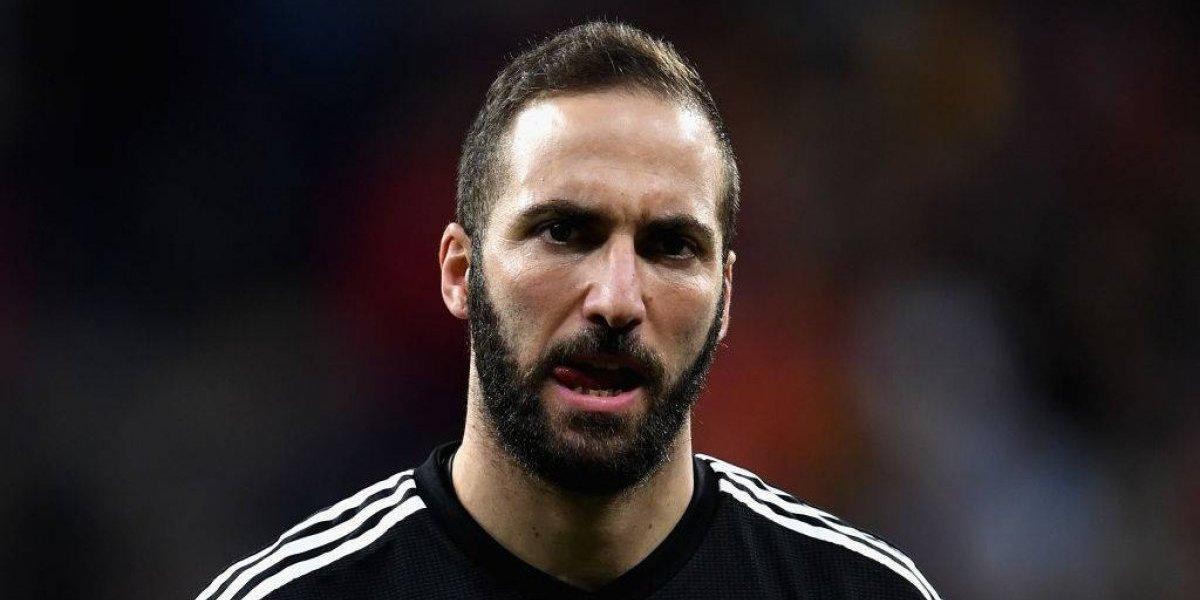 Gonzalo Higuaín respondió a sus críticos tras el partido ante España