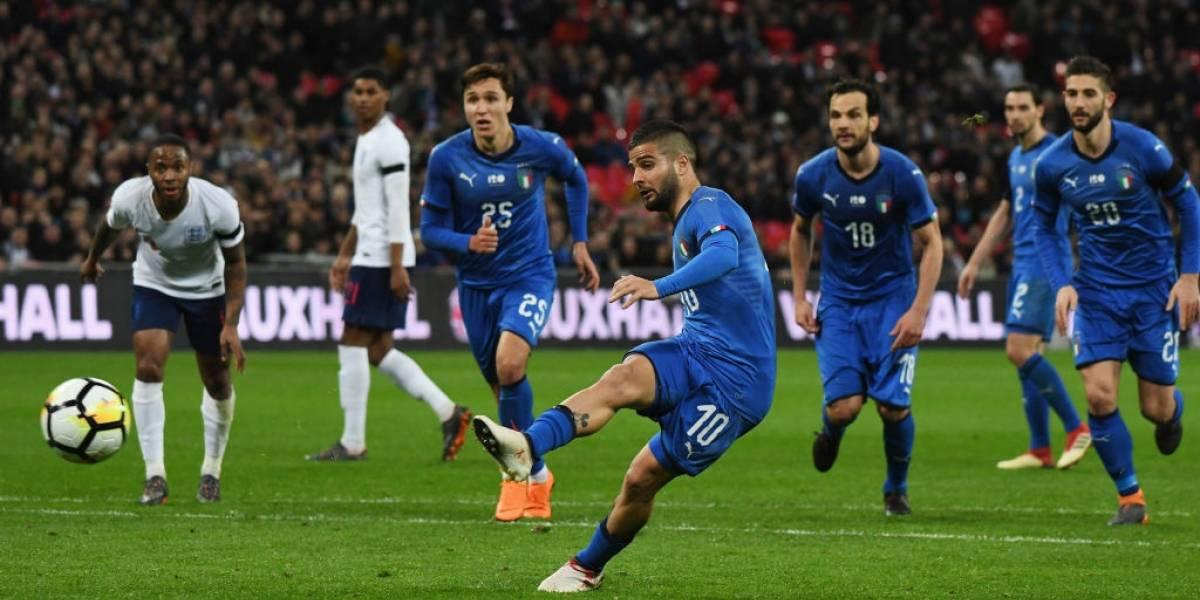 Italia le empató a Inglaterra en Wembley gracias al VAR