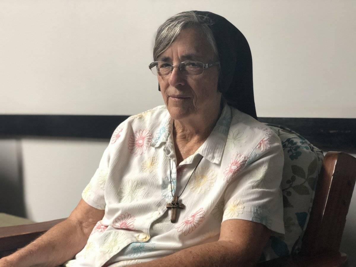 La hermana Rose Mary González, fundadora y directora del Hogar del Buen Pastor. / David Cordero Mercado