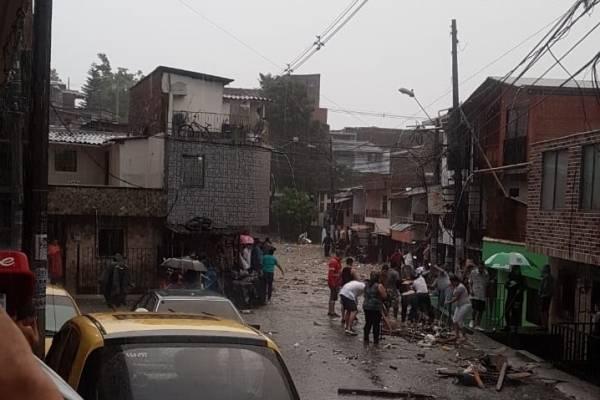 Inundaciones en Medellín