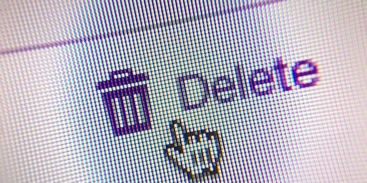 Cómo borrar de forma definitiva tu cuenta de Facebook y de otras redes sociales