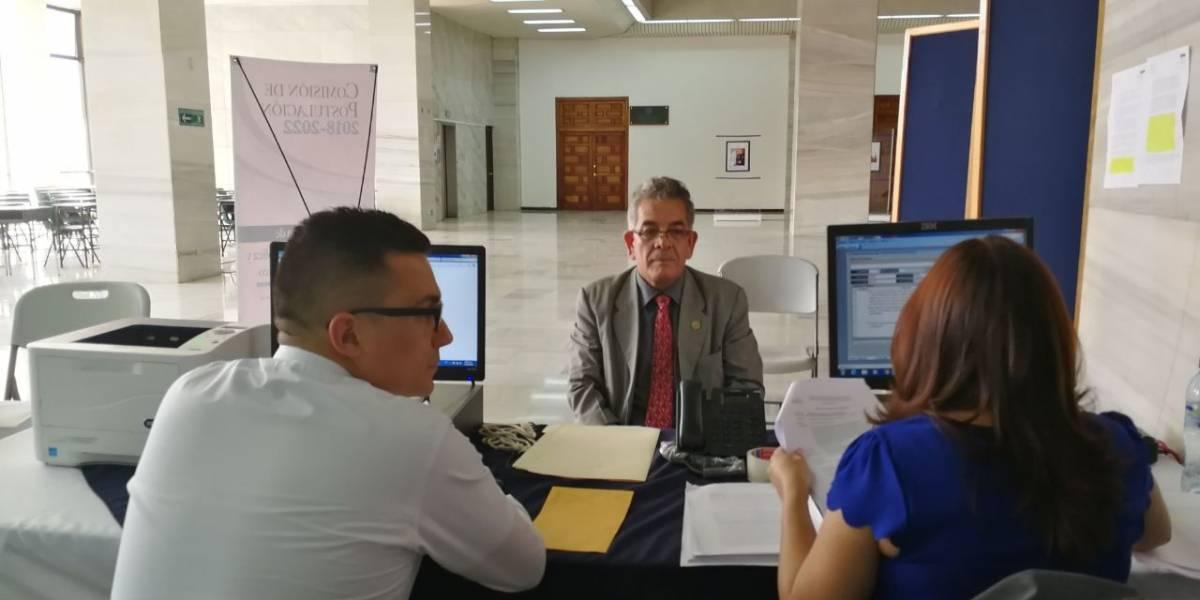 Juez Miguel Gálvez entrega sus pruebas de descargo