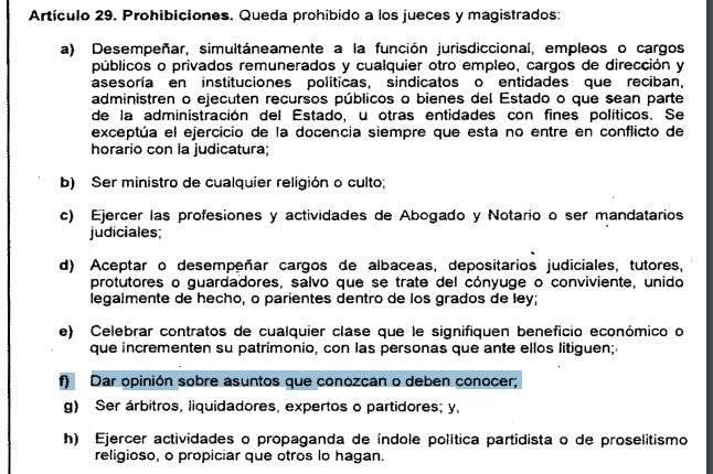 ley de la carrera judicial
