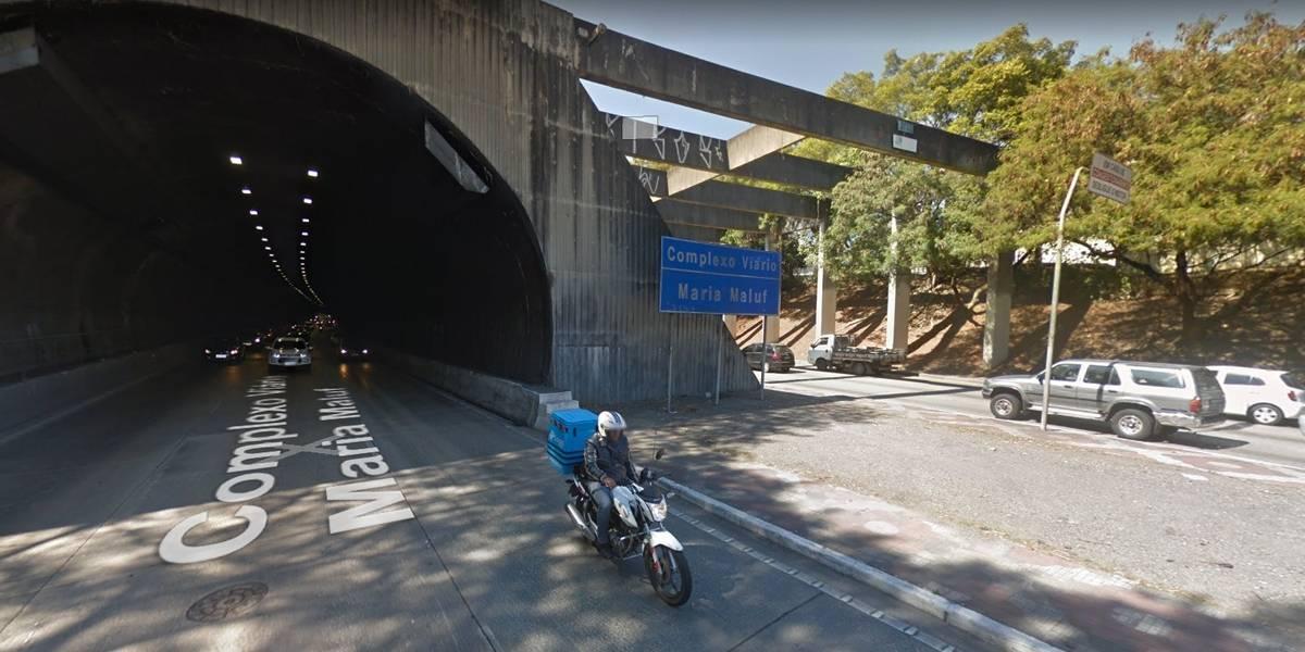 CET interdita Túnel Maria Maluf para manutenção
