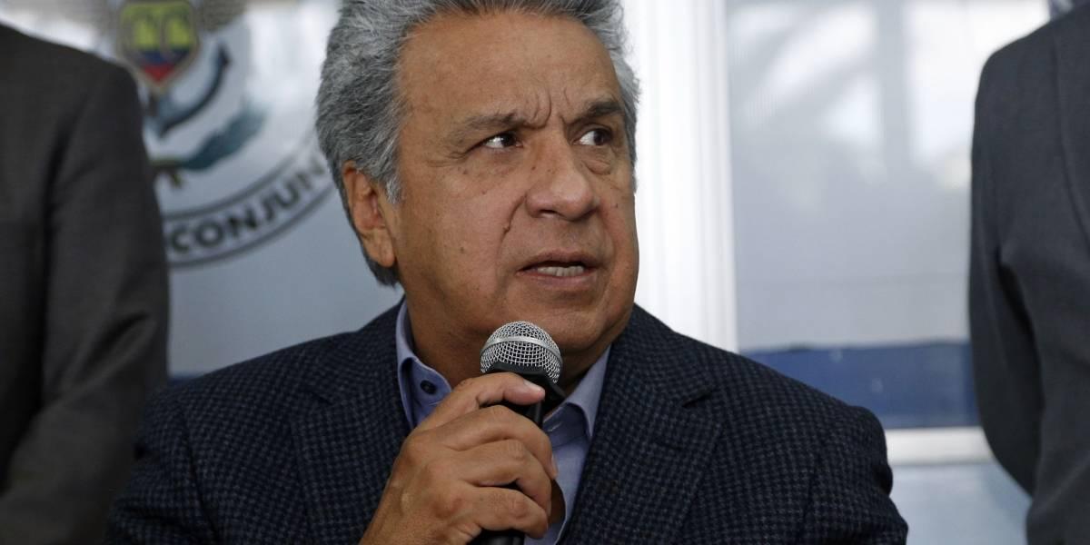 Moreno dice que su Gobierno hace todo lo posible para liberar a periodistas