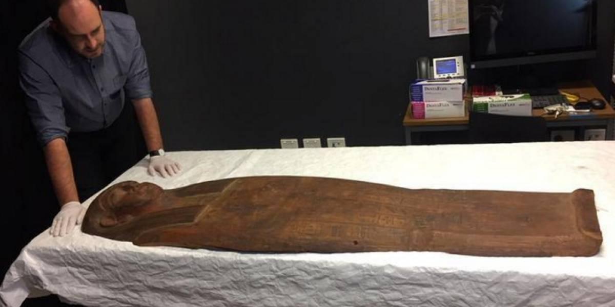 Caixão de 2.500 anos antes ignorado pode dar pistas sobre Antigo Egito