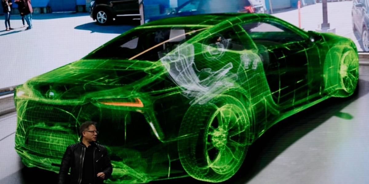 Nvidia conduce un auto real usando Realidad Virtual al estilo de Black Panther